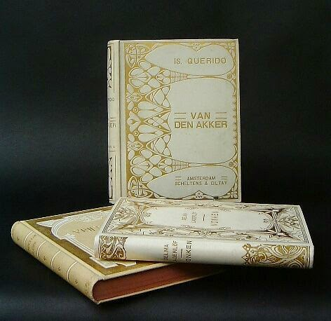 art nouveau bookbindings
