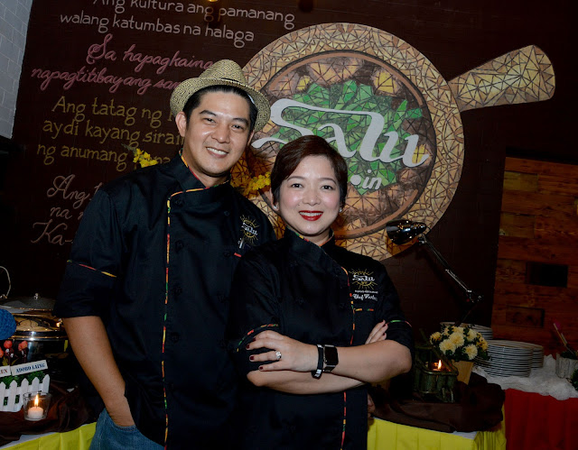 Celebrity couple, Harlene and Romnick Sarmenta gives back as Salu turns 1