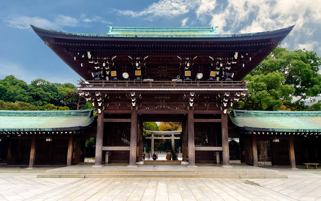 ضريح الإمبراطور ميجي - طوكيو
