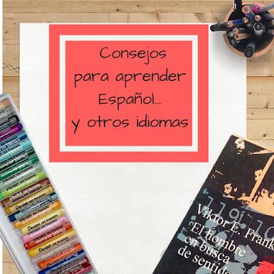 libro, papel y bolígrafo para aprender español