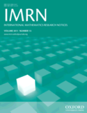 journal cover for IMRN