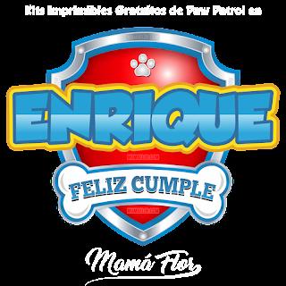Logo de Paw Patrol: Enrique