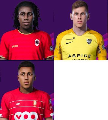PES 2020 Facepack 1 by Spursfan07