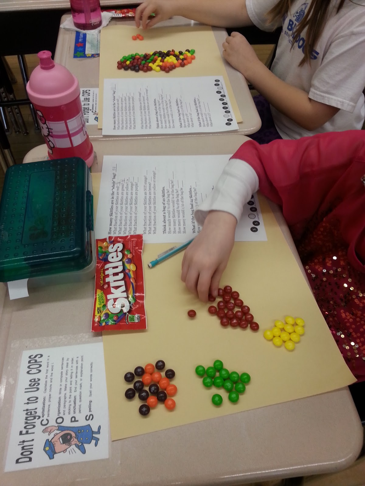 Day S Class Notes Skittles Fraction Challenge