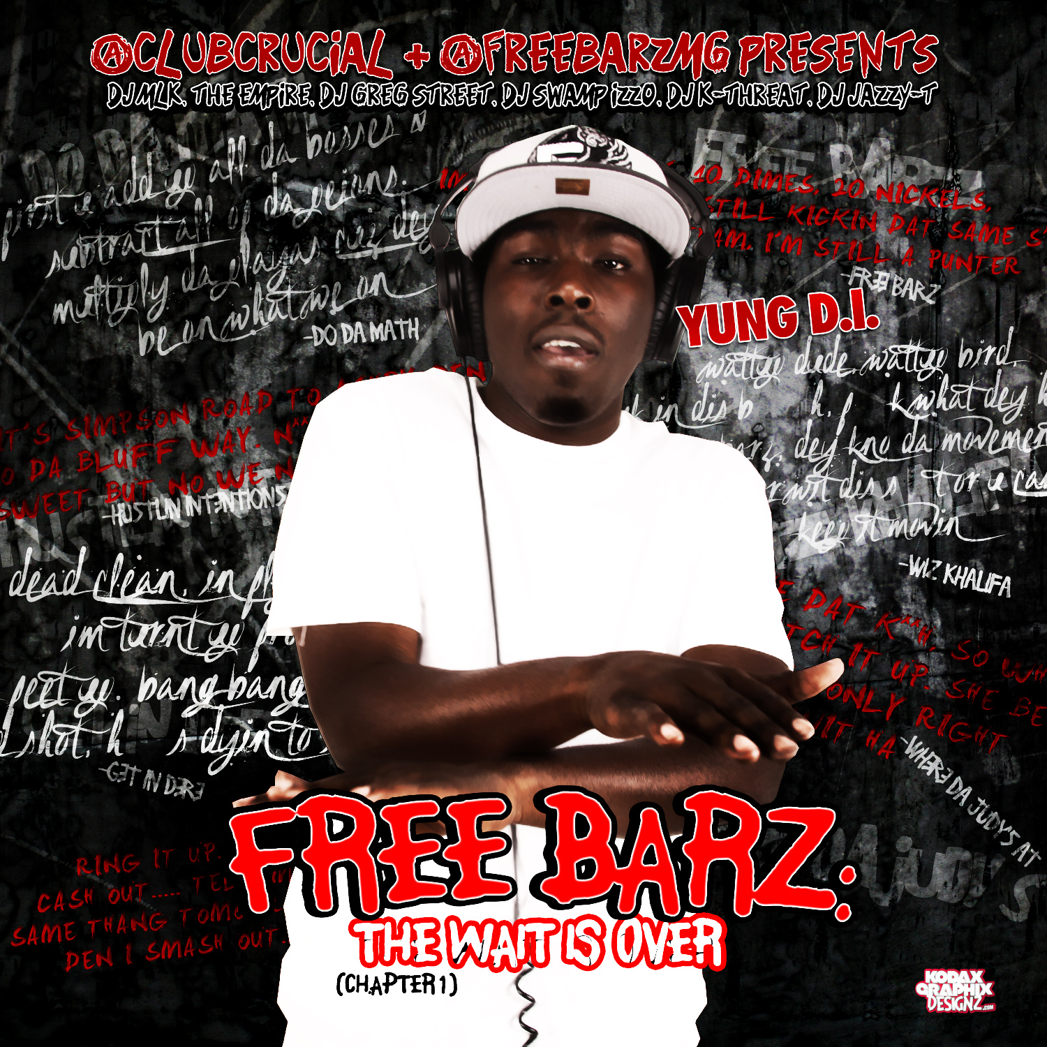 Blog Mixtape Cover Free Barz The Wait Is Over Young
