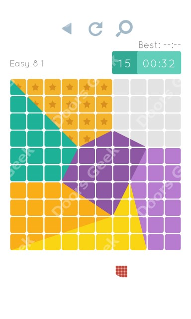 Cheats, Walkthrough for Blocks and Shapes Level 81