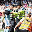 Manchester City's Sergio Aguero In Trouble For Allegedly Hitting A Steward