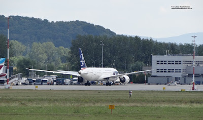 Boeing 787 Dreamliner, SP-LRD, PLL LOT