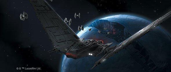 The Garage Gamers Star Wars X Wing Miniature Game Upsilon