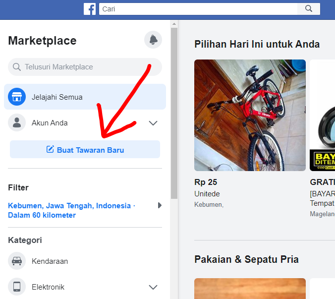 Raja Marketplace Cara Jualan Laris Di Facebook Marketplace