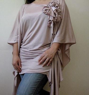 túnica fácil tallas grandes