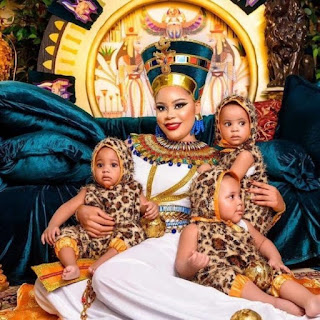 Fani-Kayode's Wife, Children Celebrate Birthday