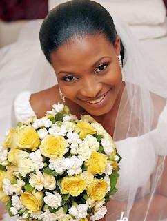 Photos of Ibidun Ajayi-Ighodalo on her wedding day