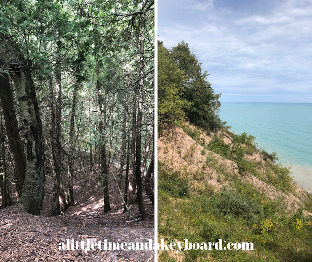 Lion's Den Gorge Nature Preserve: Forest Bathing and Lake Views in Grafton, Wisconsin