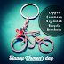 Copper Creations Bejeweled Bicycle Keychain