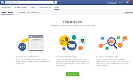 Cách tạo Facebook Pixel gắn vào facebook