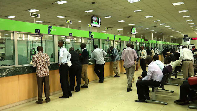 KCB bank serving customers. PHOTO | BMS