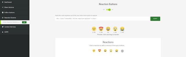 Cara Memasang Widget ShareThis di Blogger