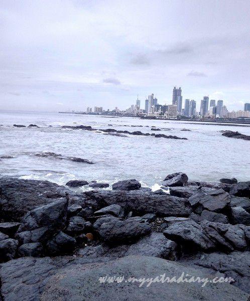 Worli Seaface promenade Mahalakshmi Mandir Mumbai