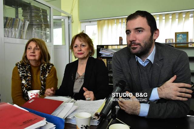Επίσκεψη του Ειδικού Γραμματέα του Σώματος Επιθεώρησης Εργασίας στο Ναύπλιο (βίντεο)