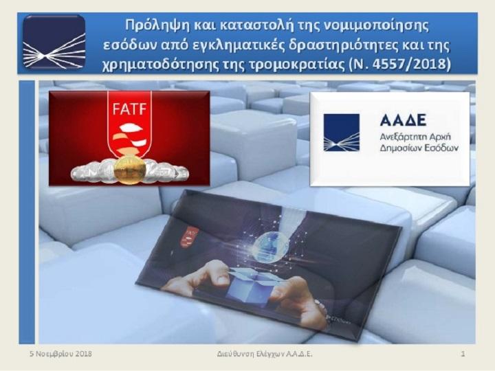 Η Ελλάδα πέρασε τις εξετάσεις της FATF