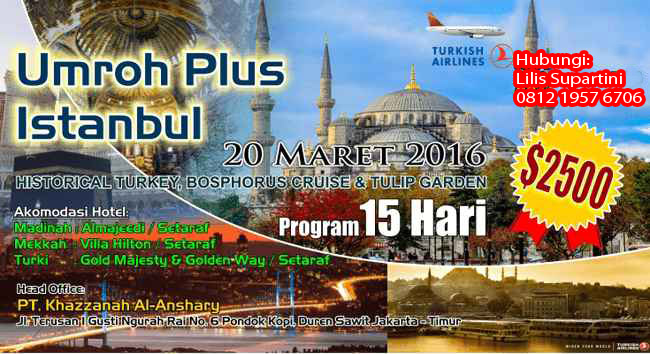 Program Umrah Khazzanah Tour Travel