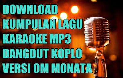 Lagu Karaoke Dangdut Koplo Monata