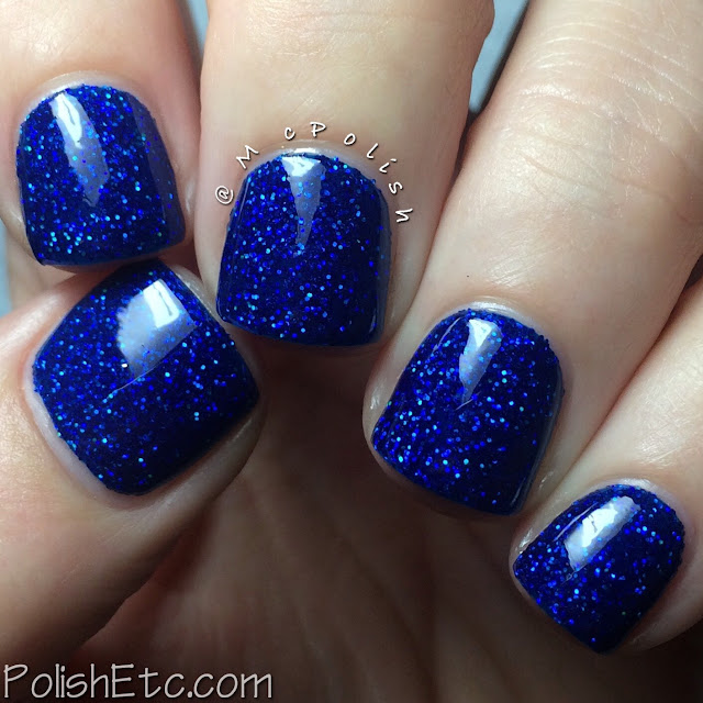 Nine Zero Lacquer - Holiday 2015 Collection - McPolish - A Peculiar Star