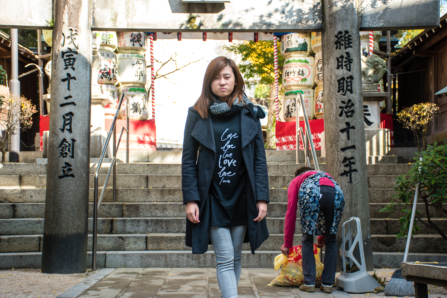 what to wear to a japanese shrine