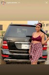 Young Nollywood Actress, Regina Daniels Buys Mercedes Benz For Millions Of Naira