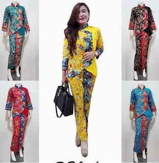 Model Baju Batik Setelan Trend Terbaru