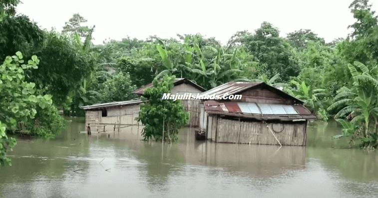 Floods in Majuli, Assam