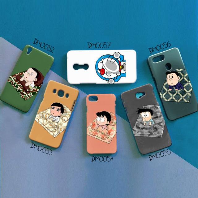 softcase doraemon and friends