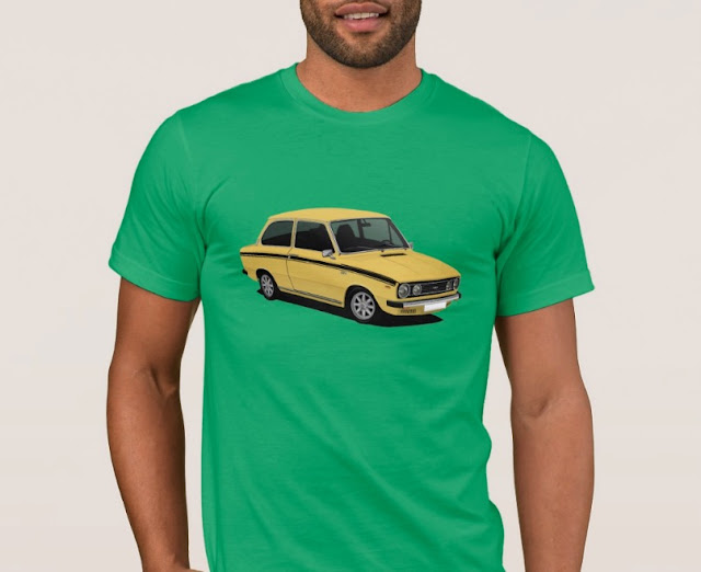 70's retro Dutch DAF 66 T-Shirt