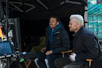 Pilou Asbaek and Rupert Sanders on the set of Ghost in the Shell (2017) (35)