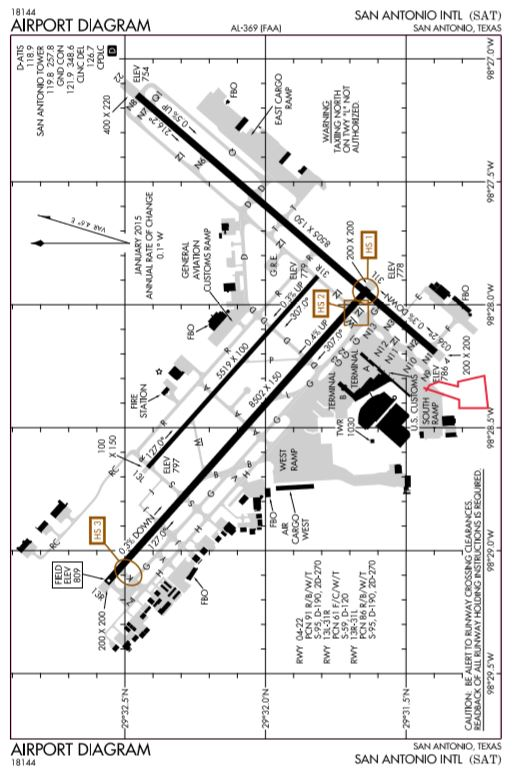 Milcom Monitoring Post San Antonio Intl Ksat Airport Diagram