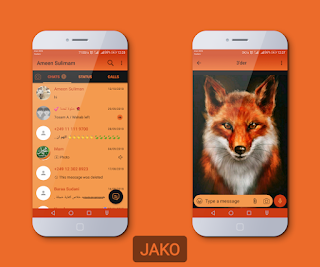 Fox Theme For YOWhatsApp & Fouad WhatsApp By Jako