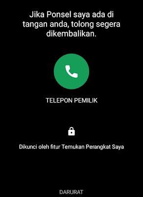 Lacak Ponsel Hilang