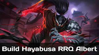 Build Hayabusa RRQ Albert Hurt's Mobile Legends