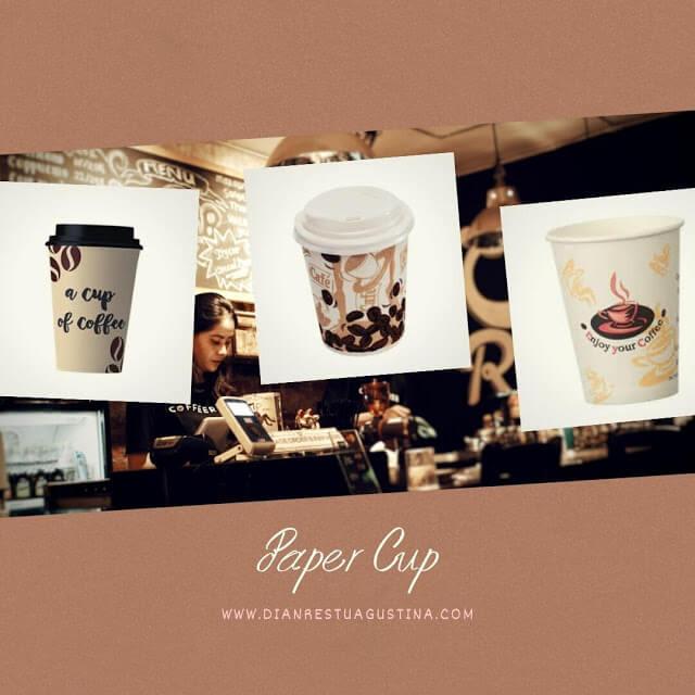 Pesan Paper Cup Tjetak