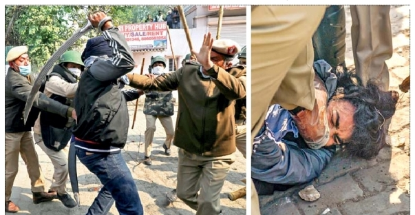 Formers Movement India - Spike nails and pointed bars to stop protesters