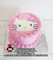 Hello Kitty Buttercream Cake Pink