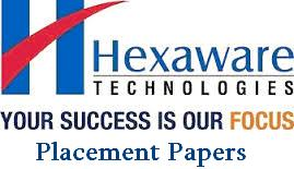 Hexaware Placement Paper & Interview Experience - Freshers