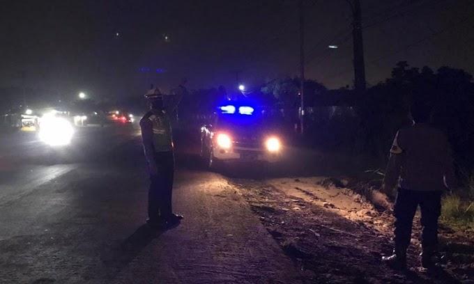 Tekan Angka Lakalantas, Jajaran Satlantas Polres Serang Gelar Patroli Malam Hari