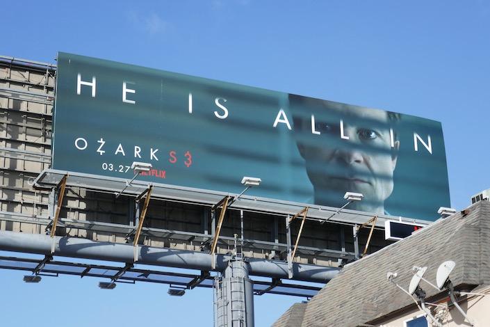 Jason Bateman Ozark season 3 billboard