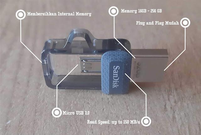 Dilema: Menghapus atau BackUp Data Beserta Kenangan di Smartphone Dengan USB OTG SanDisk