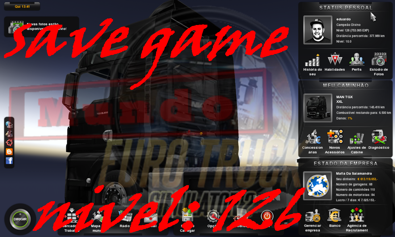 SAVE GAME NIVEL 126 – EURO TRUCK SIMULATOR 2