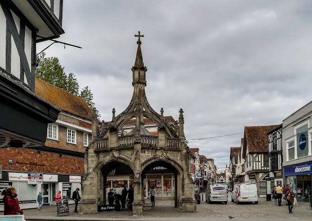 Photo of the Poultry Cross in Salisbury