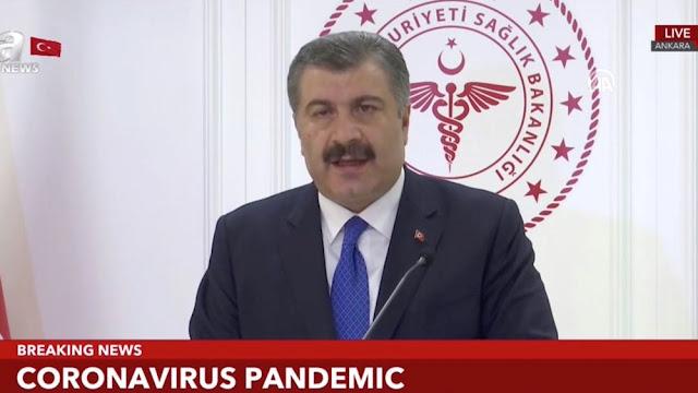 Ακόμα 15 νεκροί από κορωναϊό στην Τουρκία