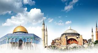 يفرحون لتحويل الكنيسة الى مسجد ويتباكون على الأقصى!!